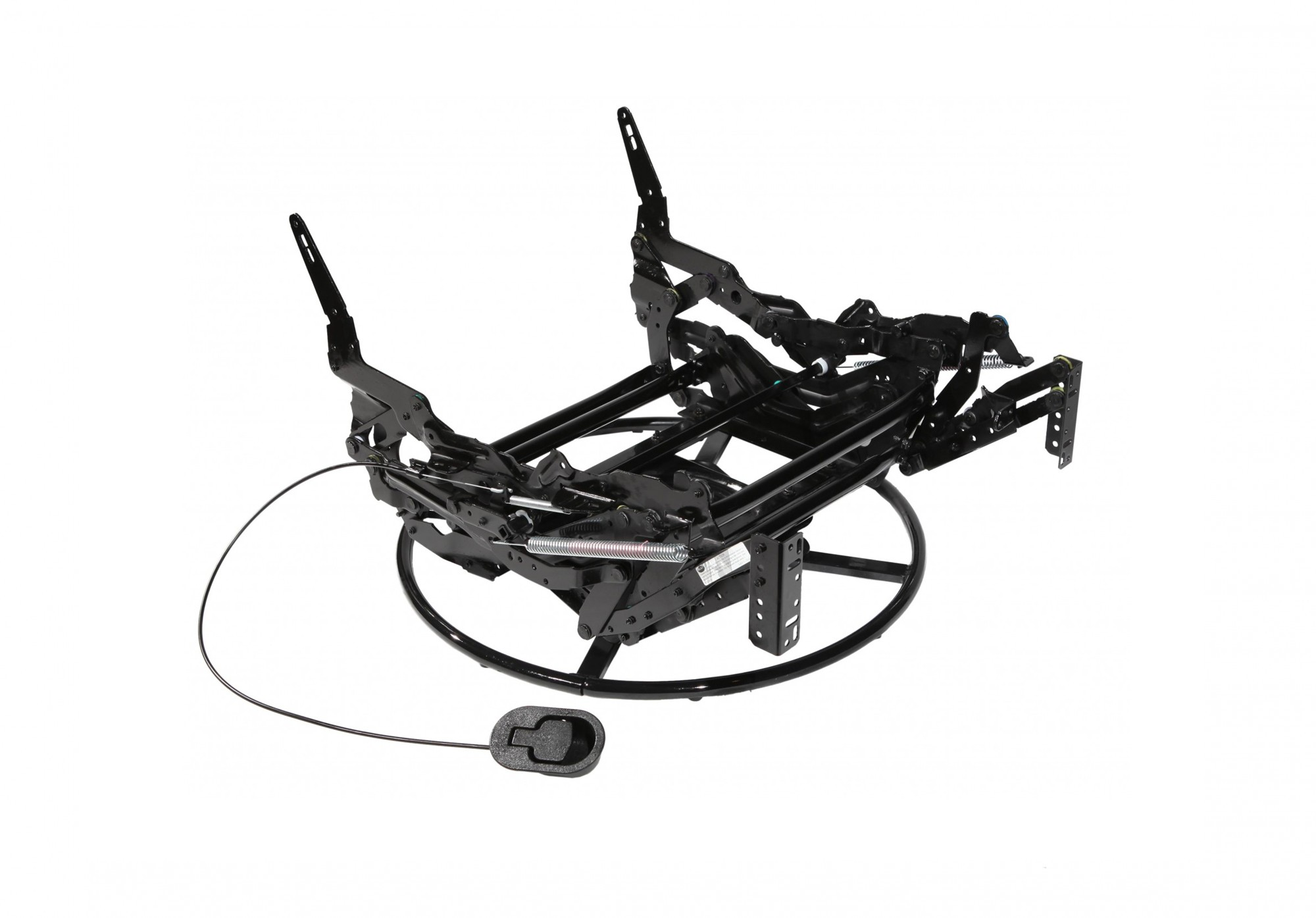 Manual Glider recliner mechanism with or without swivel & ringbase
