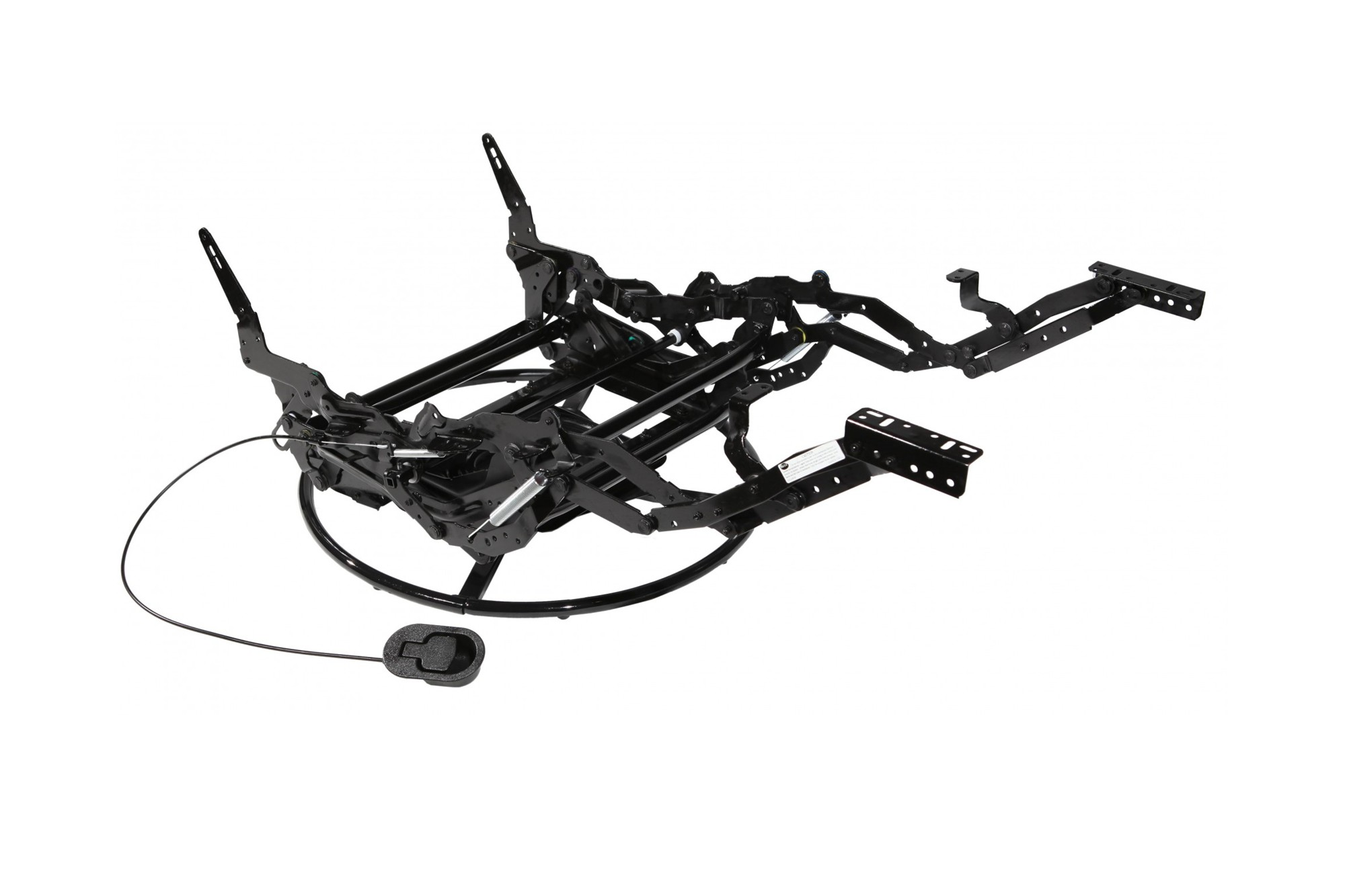 Manual Glider Recliner Mechanism With Or Without Swivel