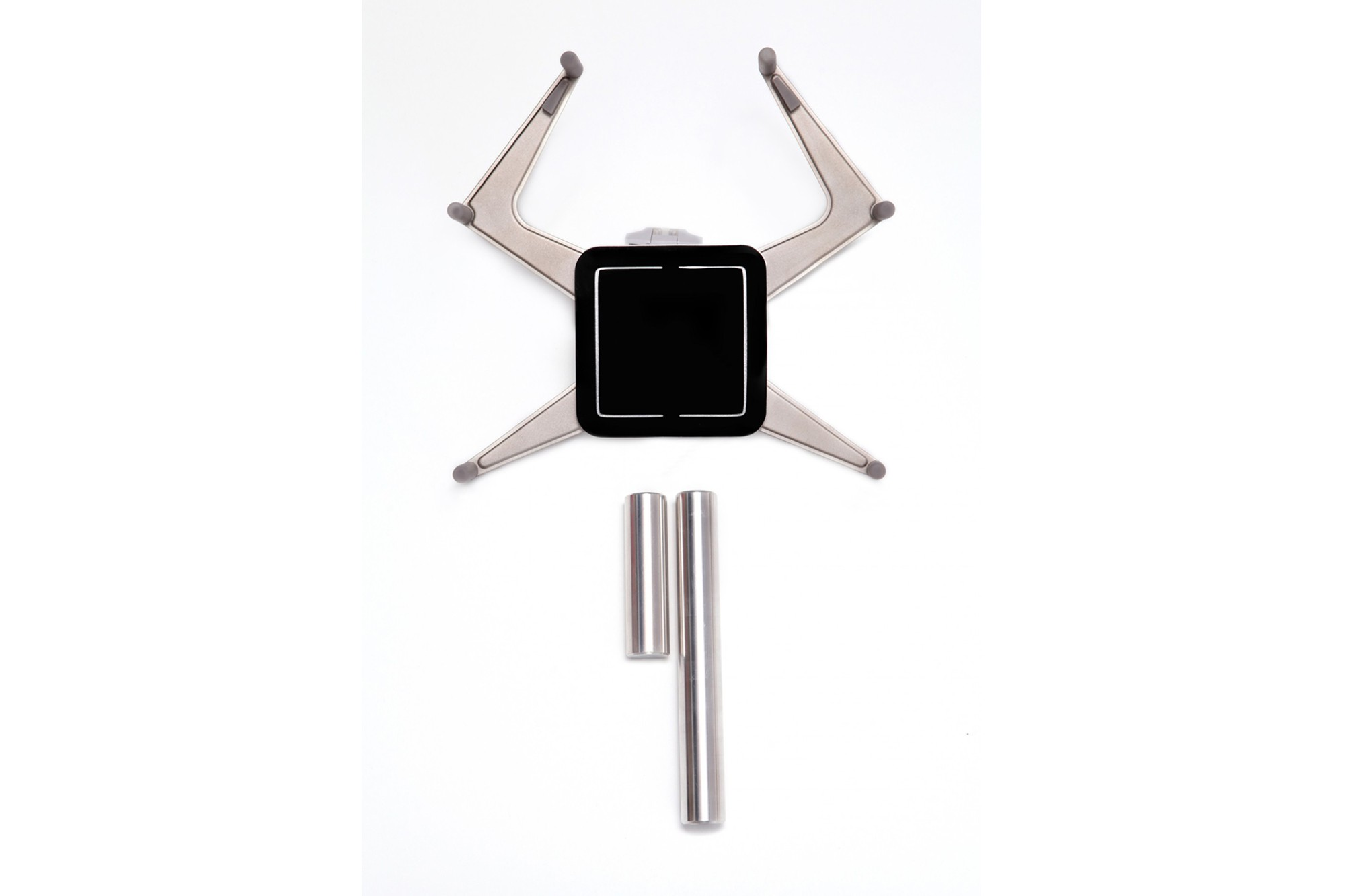 Tablet Holder with optional extension height for standard grommet