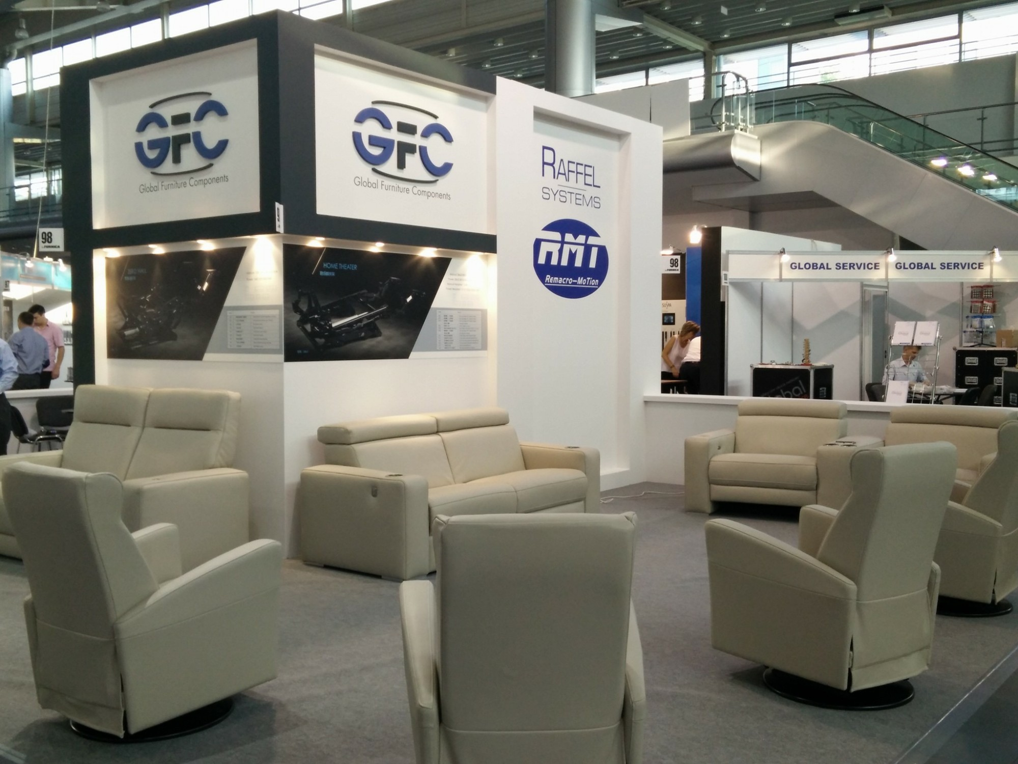 GFC completes appearance at first international trade show