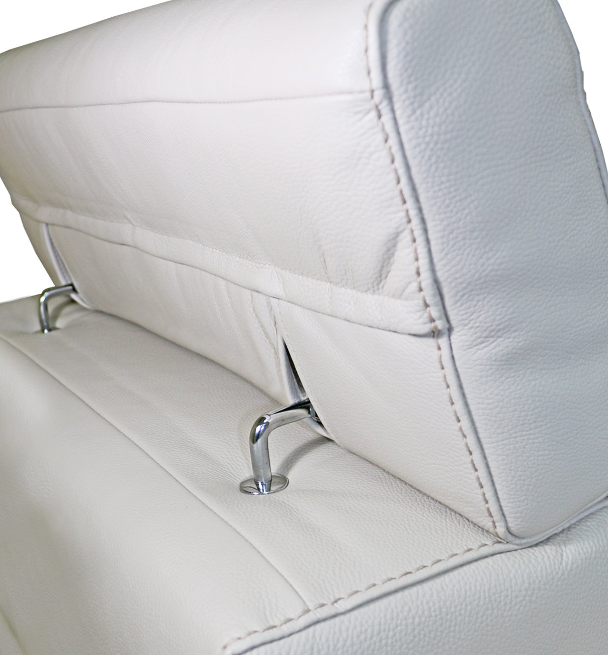 90°->195° Large Headrest hinge left+right (for recliner)