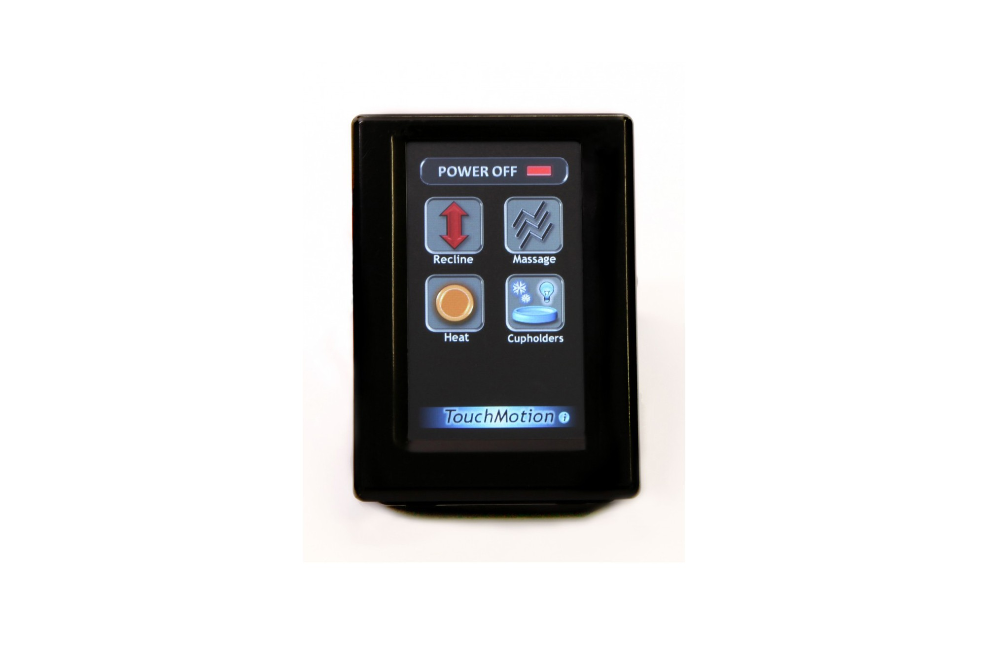 LCD screen controller for single seat w/ Single USB