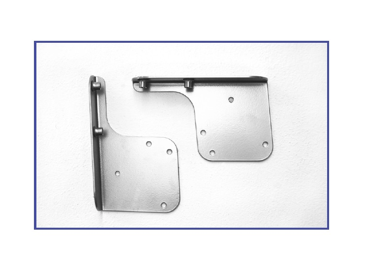 "Bracket ""C"" (left & right) is used to attach a wood backrest to the 692 series."
