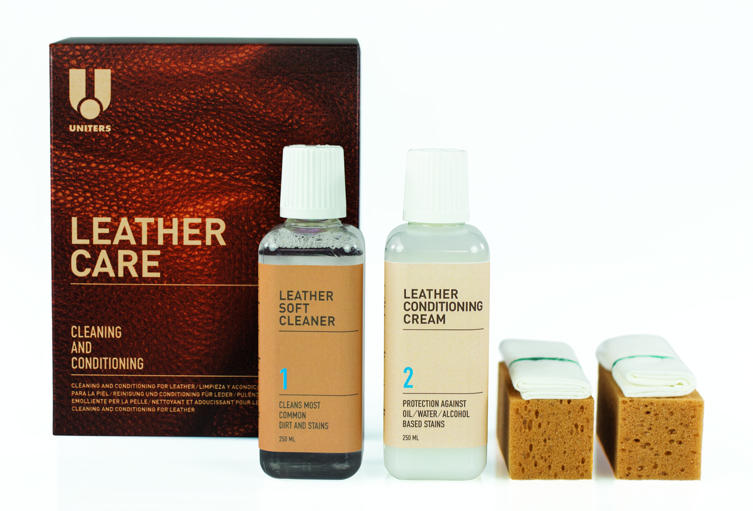 LEATHER CARE KIT MAXI + INK