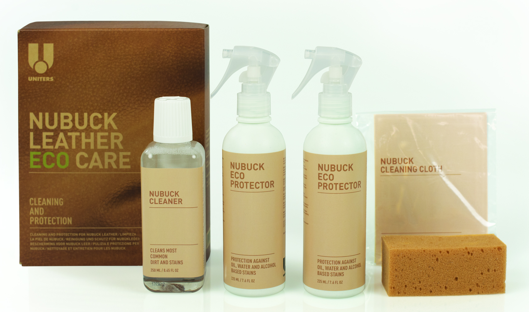 NUBUCK LEATHER ECO CARE KIT