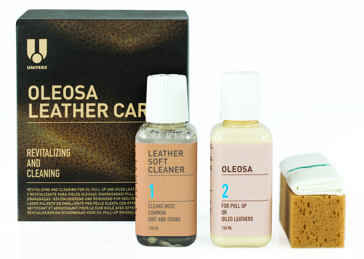 OLEOSA LEATHER CARE KIT