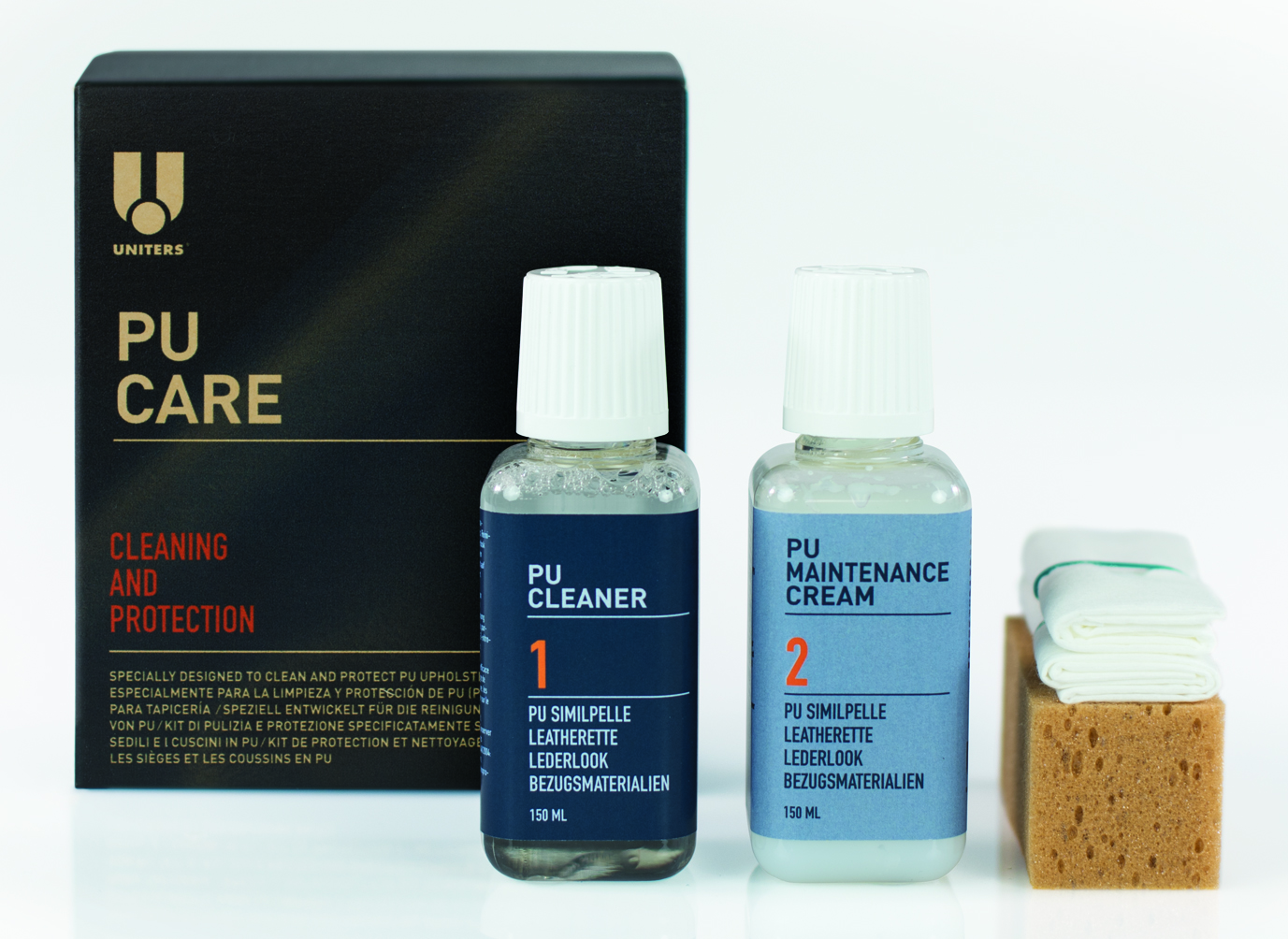 PU (Polyurethane coated leather) CARE KIT