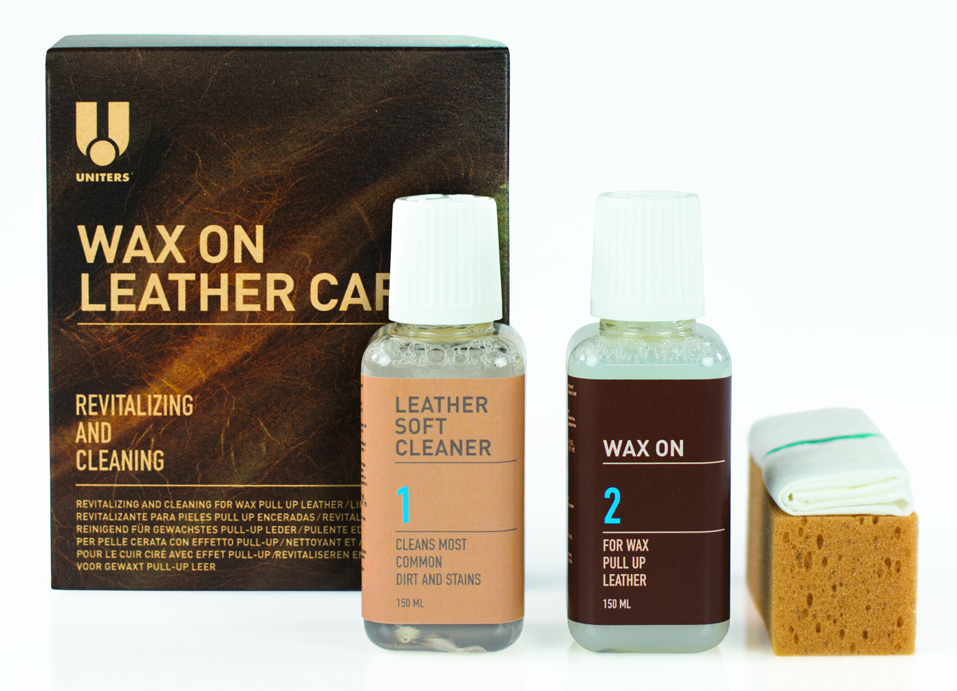WAX ON LEATHER CARE KIT